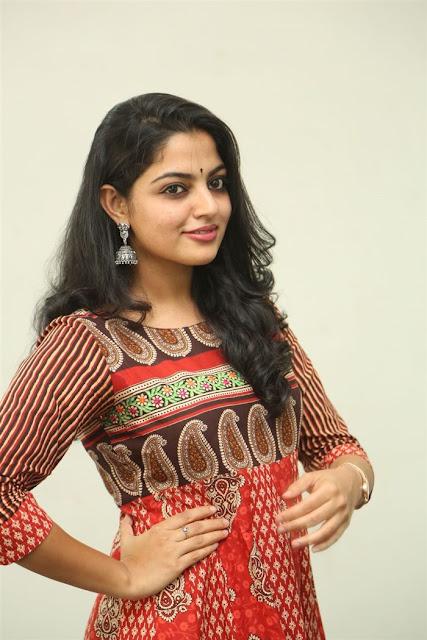 Nikhila Vimal beautiful in churidar