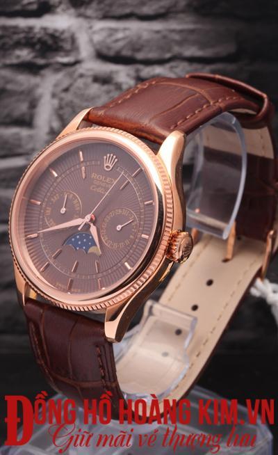 Đồng hồ dây da Rolex giá rẻ
