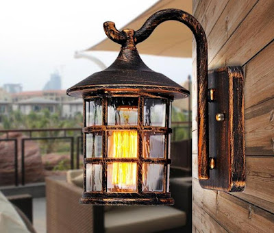 rustic outdoor wall lights