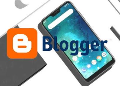 Cara Membuat Blog Di Blogger ( VIA HP)