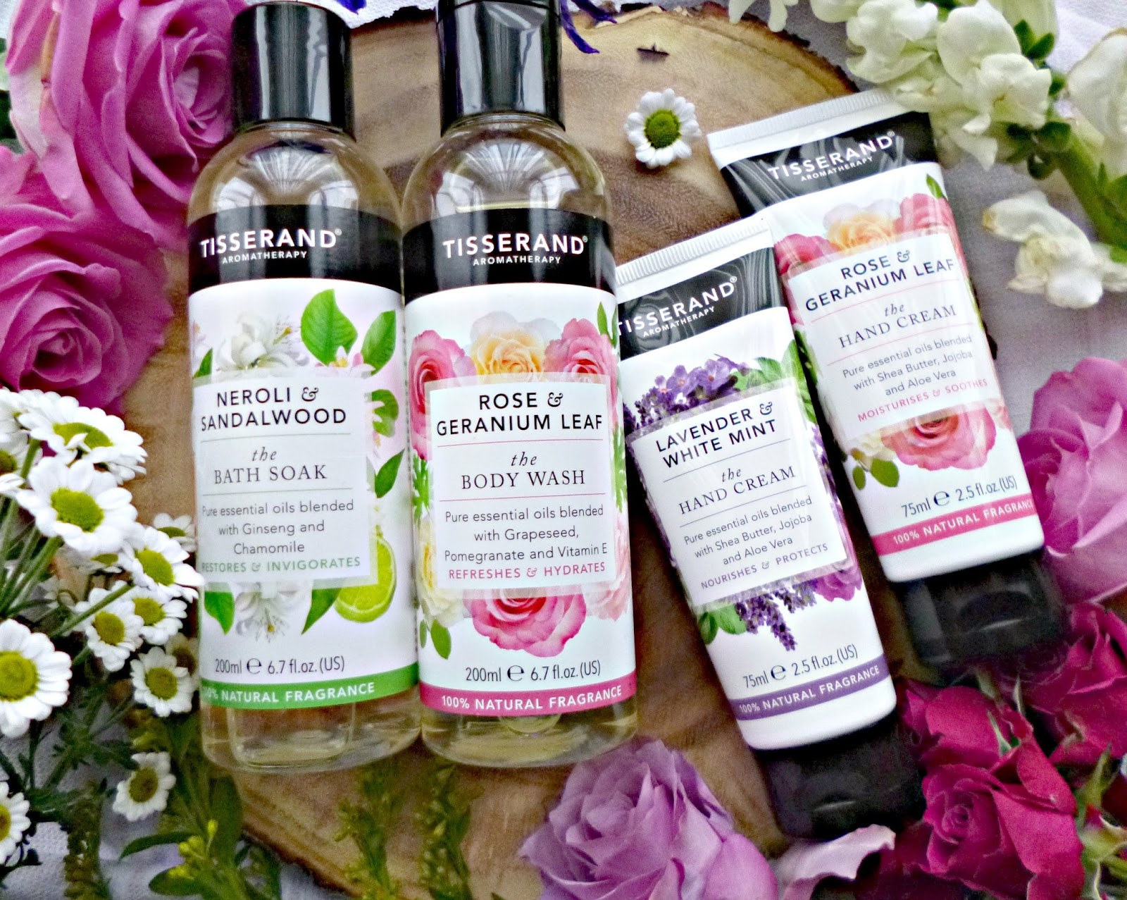 New In: Tisserand Bath and Body collection