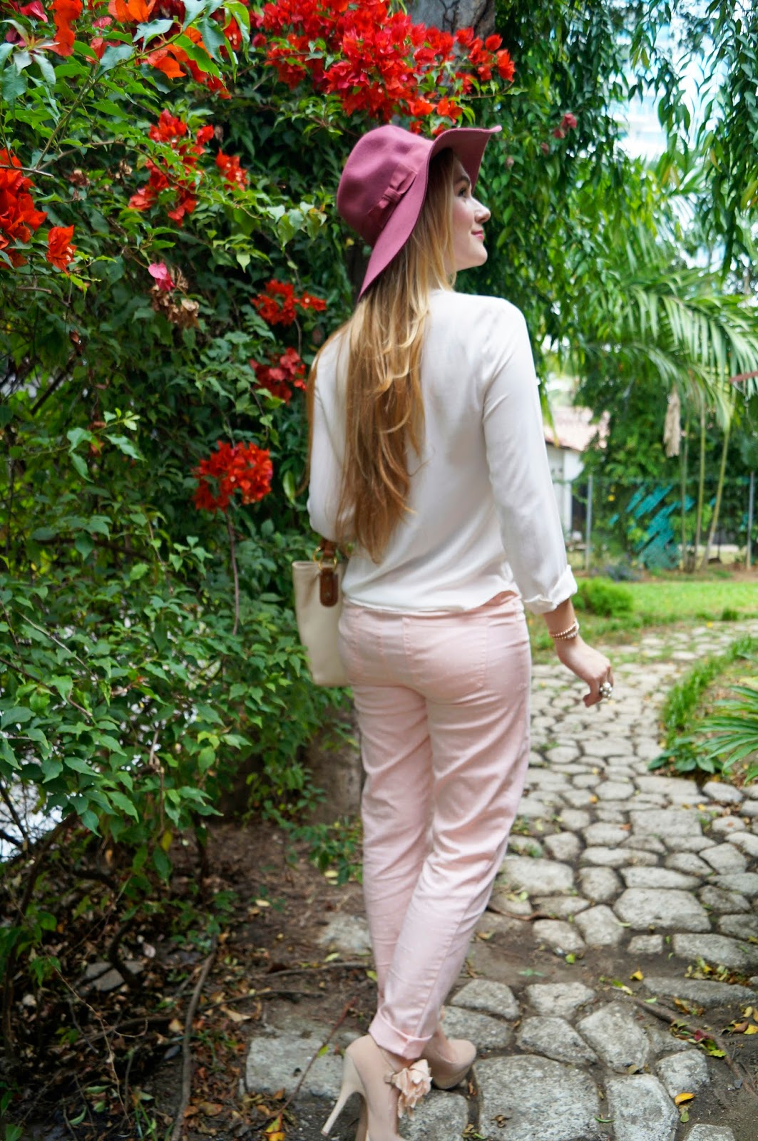 Click through for more ideas on how to wear pink hats