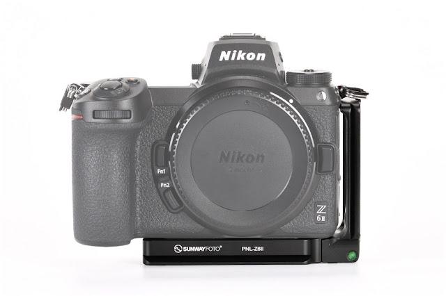 Sunwayfoto PNL-Z6II L Bracket on Nikon Z6II