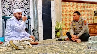 Habib Syeh Bin Abdul Qadir Assegaf  Beri Apresiasi dan Dukungan Polda Jateng dalam Memberantas Intoleran di Jawa Tengah