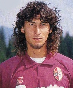 Andrea Silenzi was a leading striker for  Torino before joining Nottingham Forest