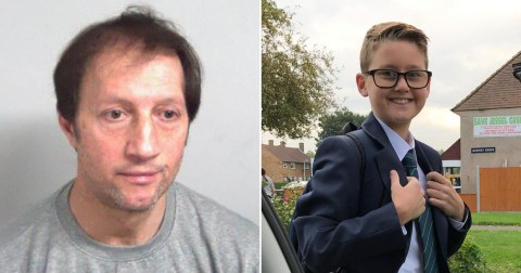 A man who killed a 12 year old boy in a hit and run outside a school has been detained indefinitely under the Mental Health Act