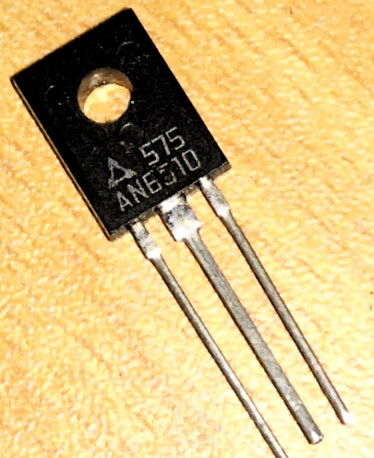 Kadachoru (කඩචෝරු): an6610 motor speed controller.