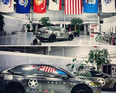 Tesla Military Veterans Special Edition - photos