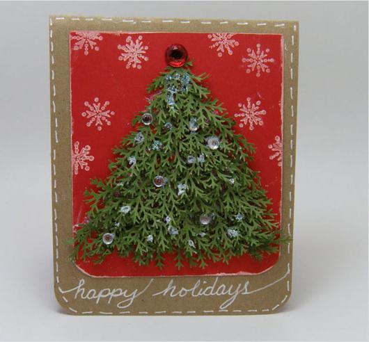 Custom-Handmade-Christmas-card-Ideas