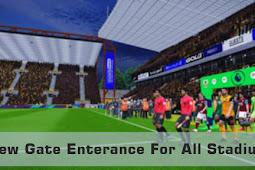 New (Cut Scane) Gate Enterance For All Stadium - PES 2017
