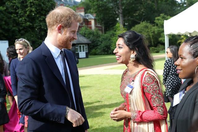 Książę Harry na Garden Party w Marlborough House