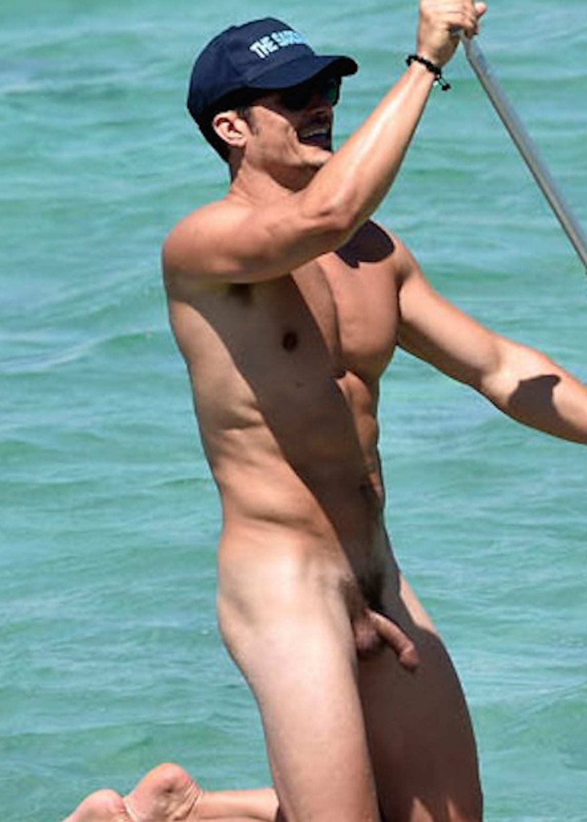 Orlando Bloom Nude Beach Uncensored