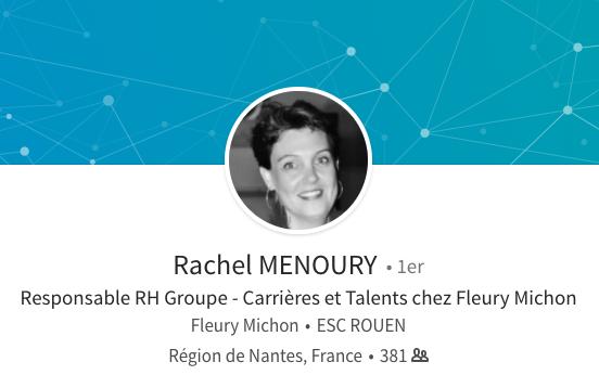 Rachel Menoury Linkedin