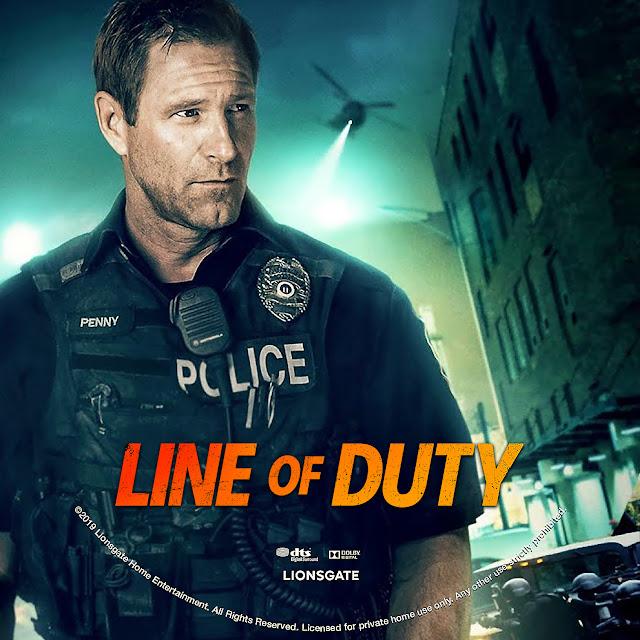 Line of Duty DVD Label