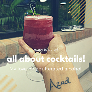 Sharing My Love for Cocktails!