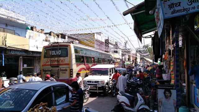 अवैध अतिक्रमण तथा ट्रैफिक जाम का पर्याय बनता श्रीमाधोपुर कस्बा