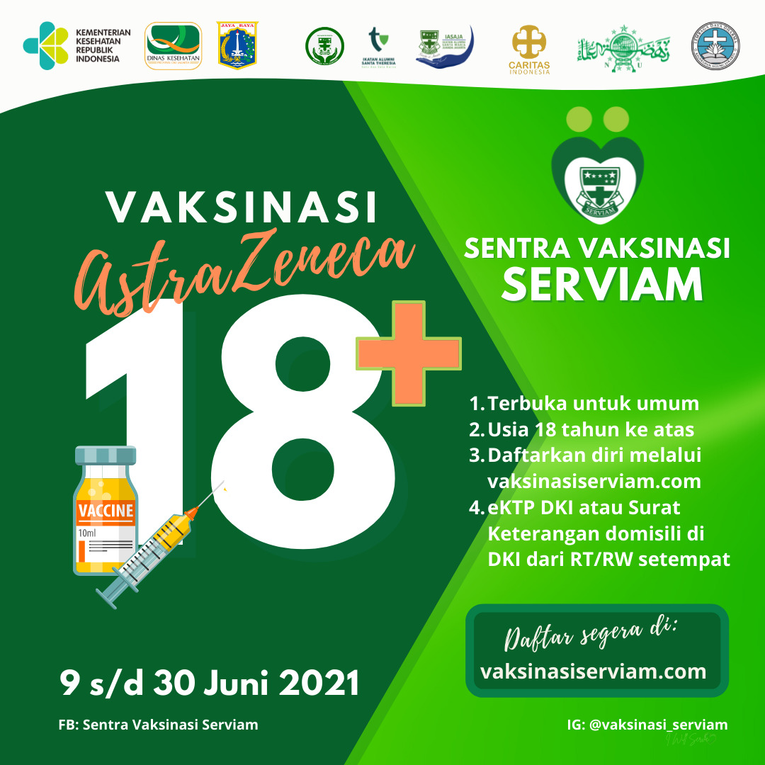 Vaksin Covid-19 Gratis Jakarta
