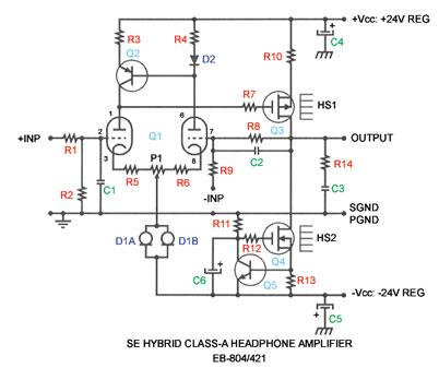 관리안하는 블로그: Borbely SE Hybrid Tube/MOSFET Headphone