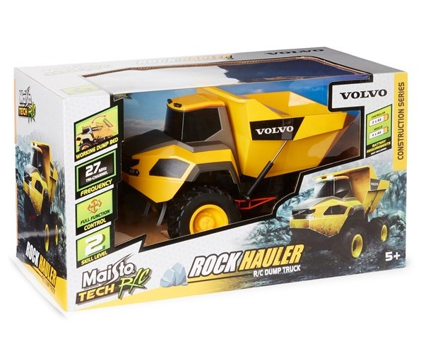 Maisto Tech Volvo Rock Hauler