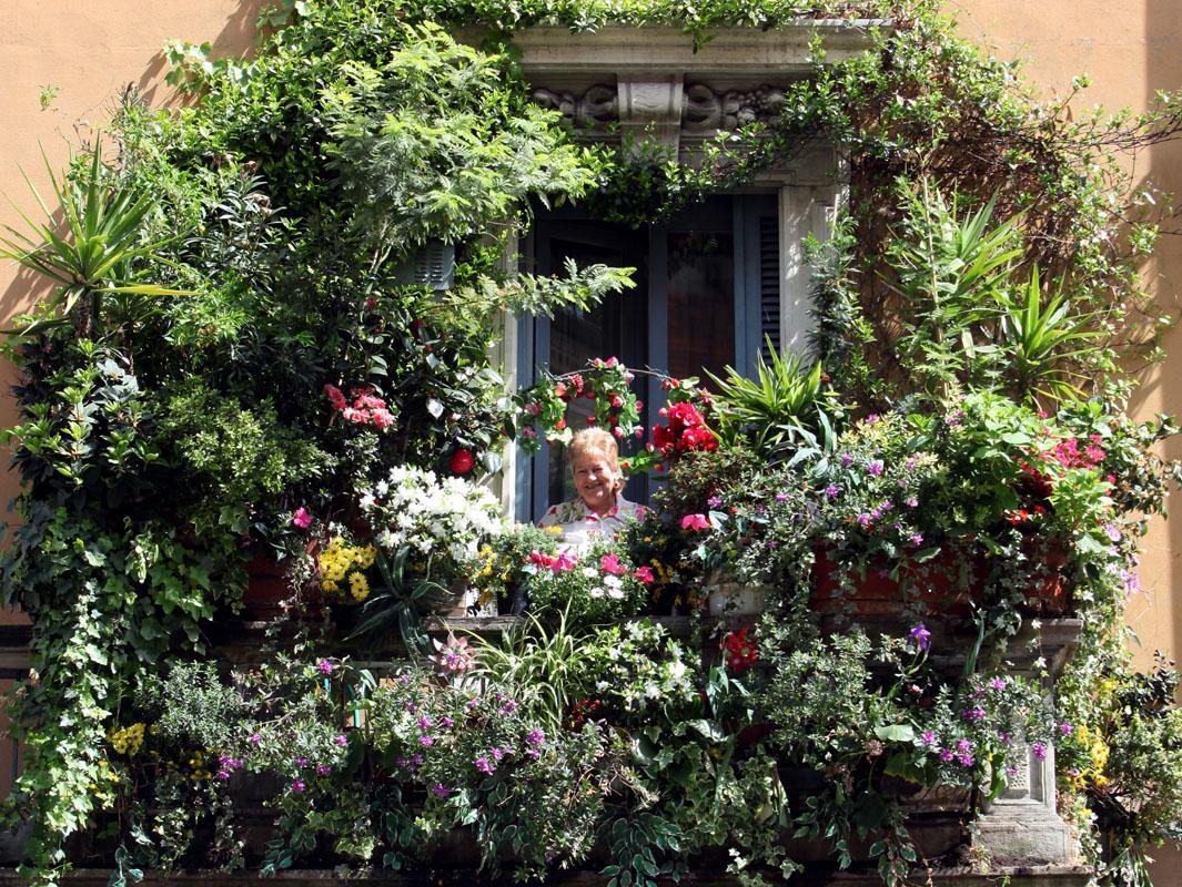 Sfumature verdi febbraio 2014 for Balcone giardino