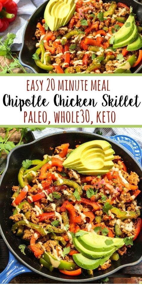 Chipotle Chicken Skillet