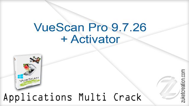 VueScan Pro 9.7.26 + Activator