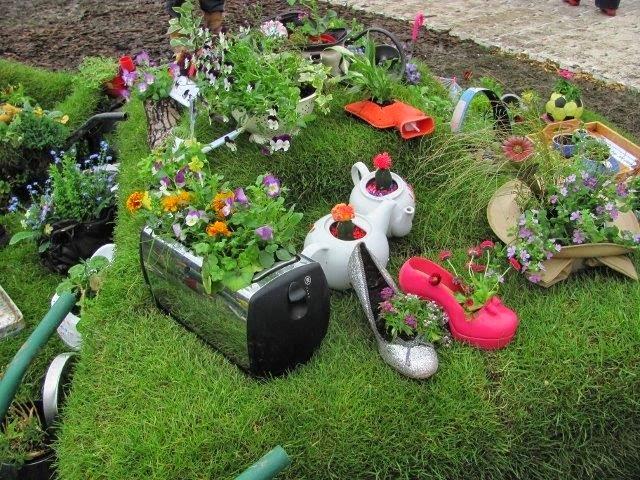Decoracion De Patio Y Jardin Creativo Patios Y Jardines - Decoracion-para-jardin