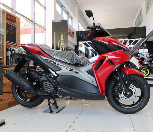 All New AEROX 155 Connected Warna Merah