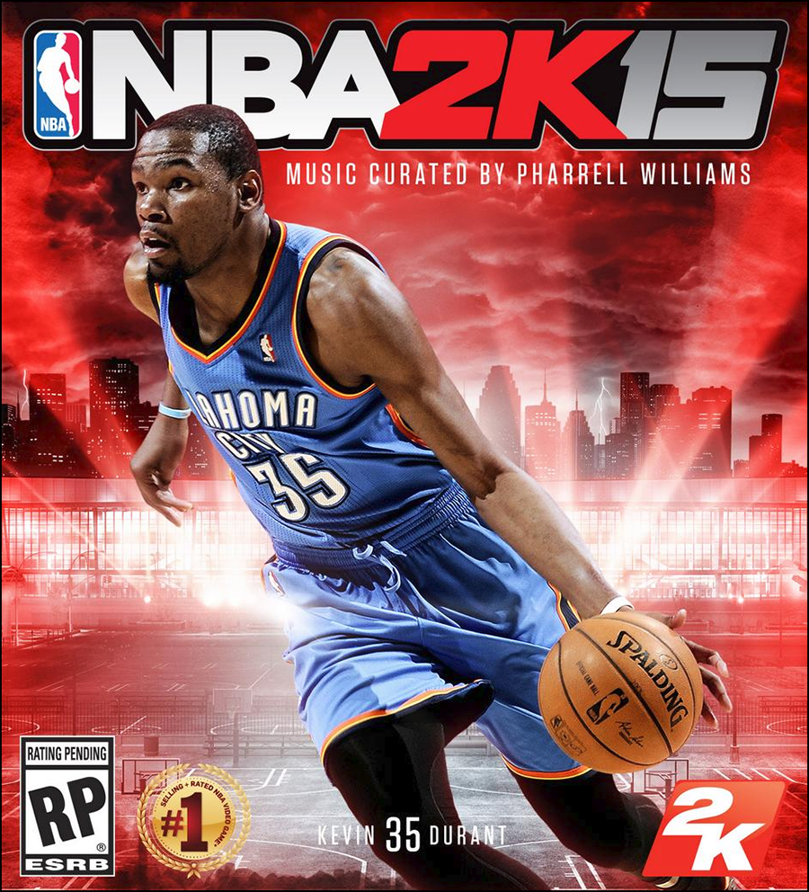 NBA 2K15 Official Box Art Cover