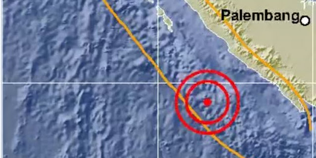 Bengkulu Diguncang Gempa Magnitudo 6,5