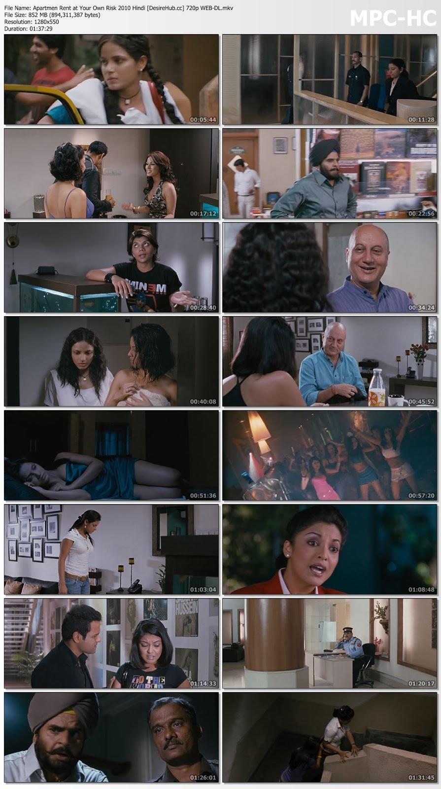 Apartmen Rent at Your Own Risk 2010 Hindi 480p WEB-DL 300MB Desirehub