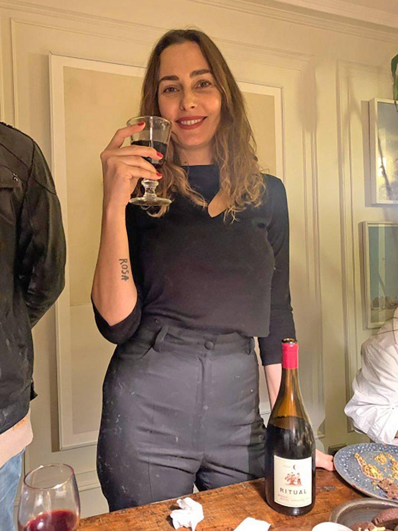 Javiera Díaz de Valdés cumplió 40 años