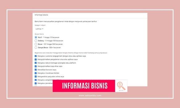Informasi Bisnis