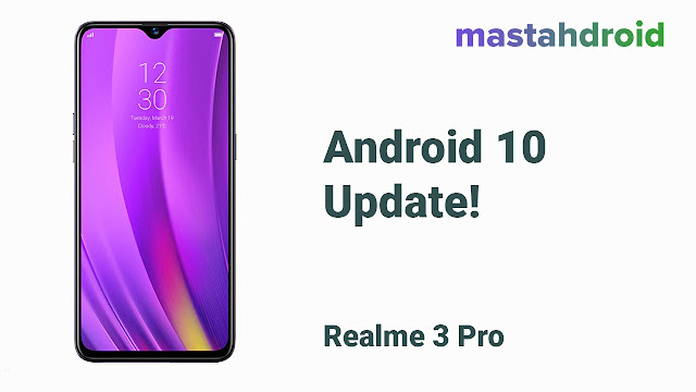 Update Android 10 Realme 3 Pro 2020 download