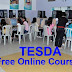 FREE TESDA Online Course for 2018
