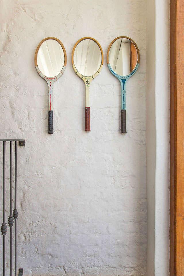 raquetas como espejos
