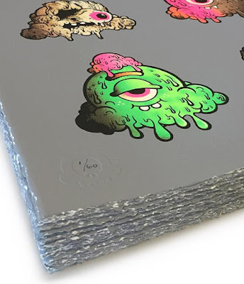 """Motley Melties"" Screen Print by Buff Monster"