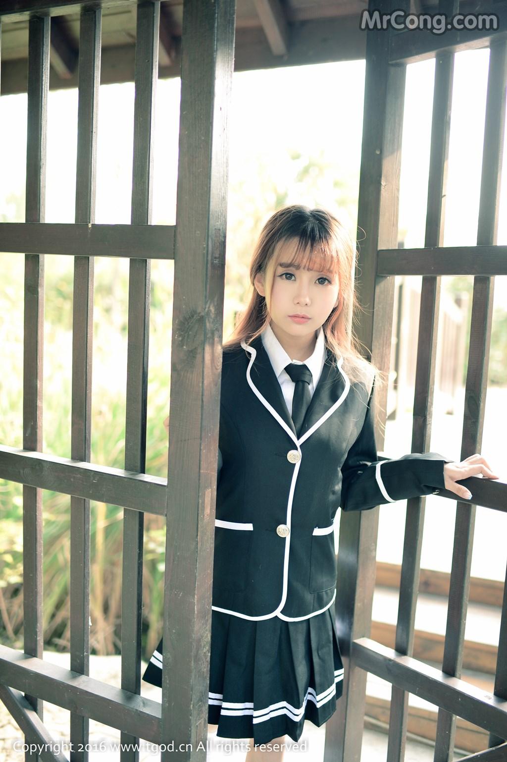 Image MrCong.com-TGOD-2016-02-03-Xiao-Jiu-Vin-004 in post TGOD 2016-02-03: Người mẫu Xiao Jiu Vin (小九Vin) (62 ảnh)