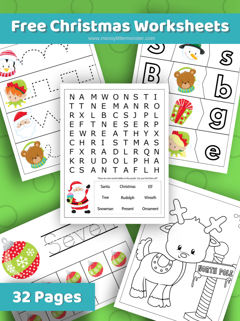free christmas printable activities for kids