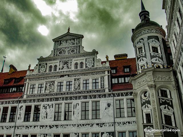 Pátio do Castelo de Dresden