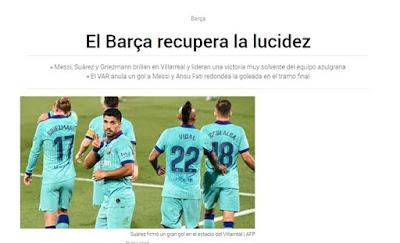 """Griezmann bùng nổ với Messi & Suarez: Báo giới ca ngợi phát kiến """"kim cương"""""""