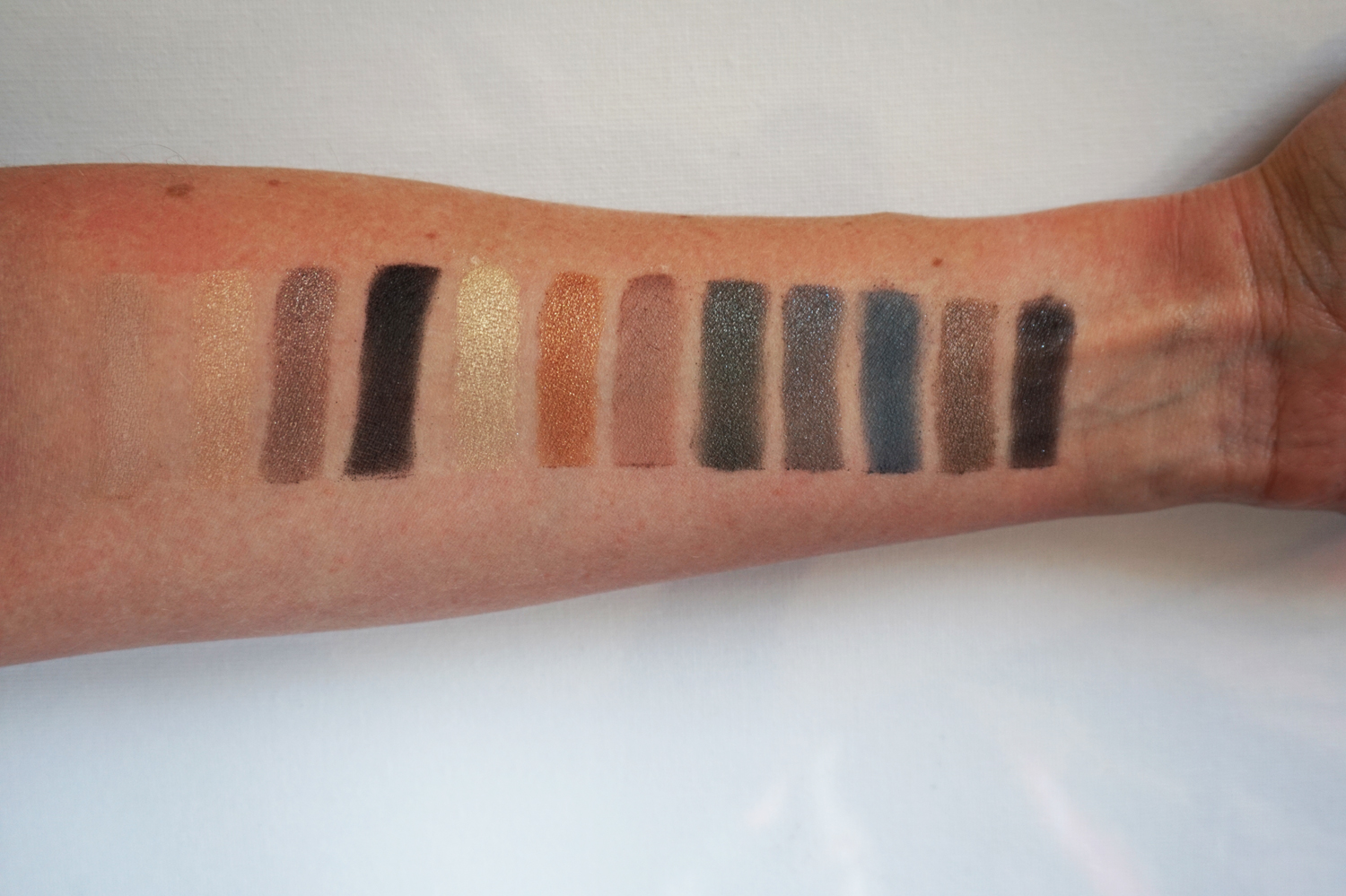 NARS L'amour toujours l'amour palette swatch