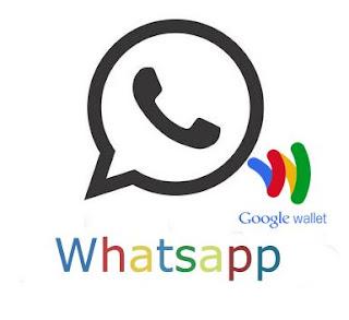 Pay Whatsapp Subscription Using Google Wallet