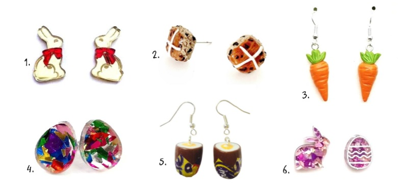easter earrings available on etsy