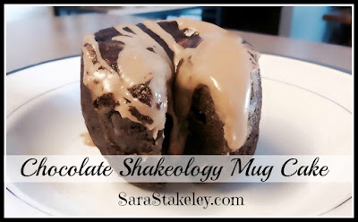 Chocolate Shakeology Mug Cake