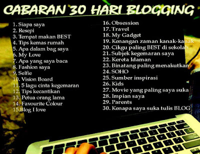 CABARAN 30 HARI BLOGGING #29 Parents