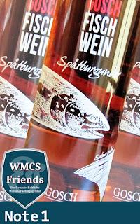 Gosch Fisch Wein - Spätburgunder Rosé - Baden 2015