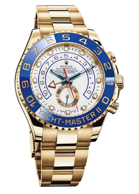 Photo of Yellow Gold Rolex Yacht-Master II