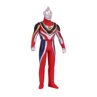 Ultraman Gaia Soft Rubber Figure Toys 13cm