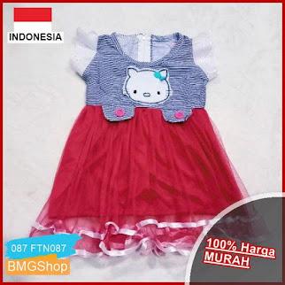 FTN087 Dress Anak Cewek Sorika Perempuan BMGShop